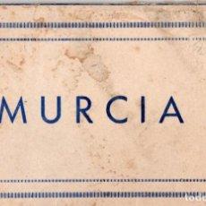 Postales: MURCIA. BLOC DE 10 POSTALES. COMPLETO. Lote 153715318