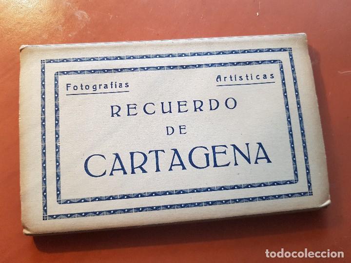 FOTOGRAFIAS ARTISTICAS POSTALES RECUERDO DE CARTAGENA MURCIA ARRIBAS ZARAGOZA (Postales - España - Murcia Antigua (hasta 1.939))