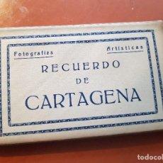 Postales: FOTOGRAFIAS ARTISTICAS POSTALES RECUERDO DE CARTAGENA MURCIA ARRIBAS ZARAGOZA. Lote 153824262