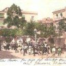 Postales: CARTAGENA PLAZA DE RISUEÑO 1908. Lote 155000262