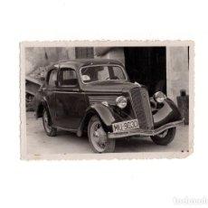 Postales: COCHE CON MATRICULA DE MUCIA. POSTAL FOTOGRÁFICA. Lote 155016826