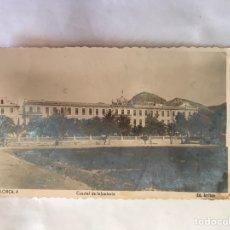 Postales: LORCA (MURCIA) POSTAL FOTOGRAFÍCA NO.4, CUARTEL DE INFANTERÍA. EDITA: EDICIONES ARRIBAS (H.1940?). Lote 155373970