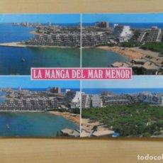 Postales: LA MANGA DEL MAR MENOR (MURCIA) CALA DEL PINO Y VISTA PARCIAL Nº 3032 CATALÁN IBARZ S/C. Lote 155421378