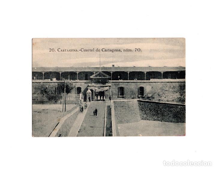 CARTAGENA.(MURCIA).- CUARTEL DE CARTAGENA (Postales - España - Murcia Antigua (hasta 1.939))