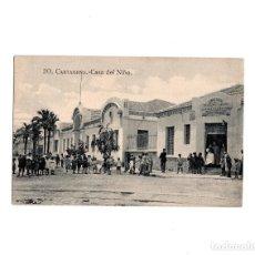 Postales: CARTAGENA.(MURCIA).- CASA DEL NIÑO. Lote 155496502