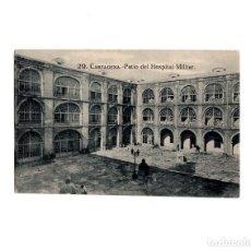 Postales: CARTAGENA.(MURCIA).- PATIO DEL HOSPITAL MILITAR. Lote 155496954