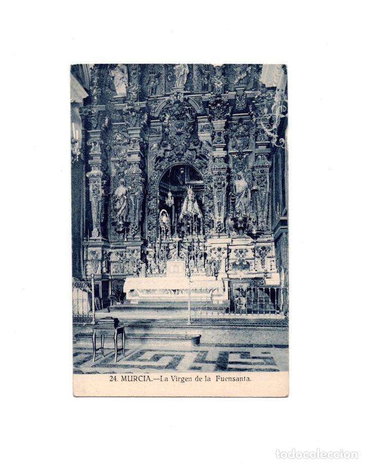 MURCIA.- LA VIRGEN DE LA FUENSANTA (Postales - España - Murcia Antigua (hasta 1.939))