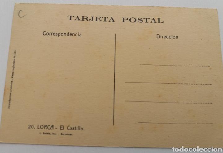 Postales: LORCA. MURCIA. CASTILLO - Foto 2 - 155582697