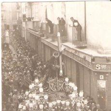 Postales: CARTAGENA (MURCIA) PASO EN SEMANA SANTA. FOTOGRAFÍA CASAÚ.. Lote 155734118