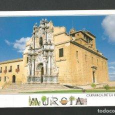 Postales: POSTAL SIN CIRCULAR - CARAVACA DE LA CRUZ - MURCIA - SANTUARIO DE LA VERA CRUZ - EDITA EDICIONES A.M. Lote 155920370