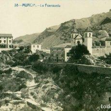 Postales: MURCIA SANTUARIO VIRGEN DE LA FUENSANTA. FOTOGRÁFICA.CIRCULADA EN 1918. MUY RARA.. Lote 156309994
