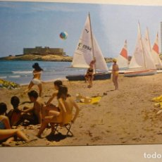 Postales: POSTAL LA MANGA -HOTEL GALUA -CIRCULADA. Lote 156670950