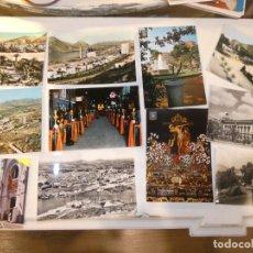 Postales: LOTE 11 POSTALES DE CARTAGENA,MURCIA. SEMANA SANTA, ESCOMBRERAS,ARSENAL,SUBMARINO , CIRCULADAS.. Lote 156827414