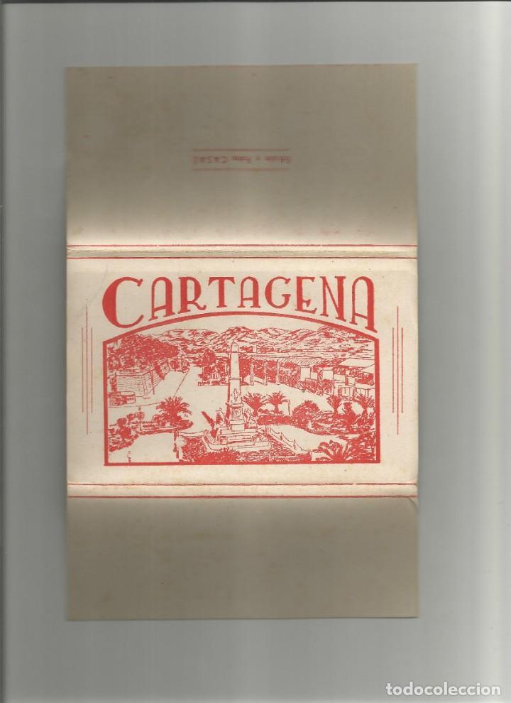 ALBUM DESPLEGABLE 10 POSTALES DE CARTAGENA-EDICION Y FOTOS CASAU-VARIEDAD-VER FOTOS (Postales - España - Murcia Moderna (desde 1.940))