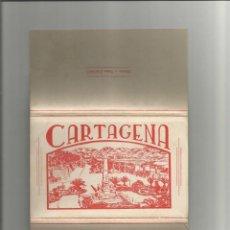 Postales: ALBUM DESPLEGABLE 10 POSTALES DE CARTAGENA-EDICION Y FOTOS CASAU-VARIEDAD-VER FOTOS. Lote 149501562