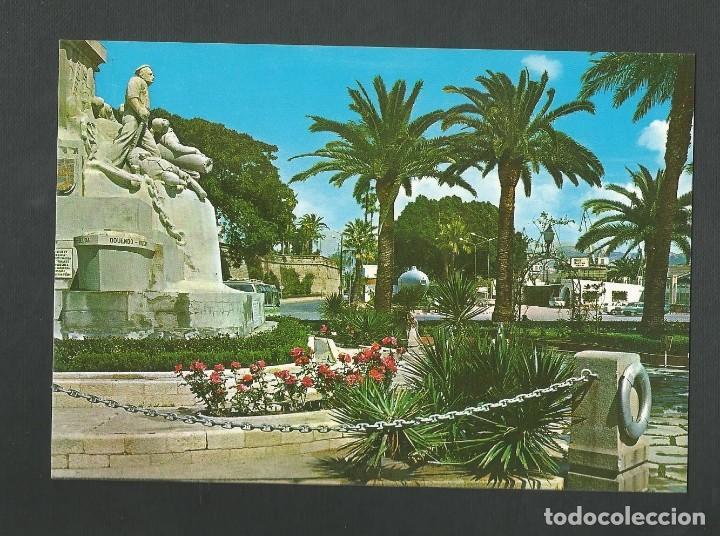 POSTAL SIN CIRCULAR - CARTAGENA 53 - MONUMENTO HEROES DE CAVITE - MURCIA - EDITA ARRIBAS (Postales - España - Murcia Moderna (desde 1.940))