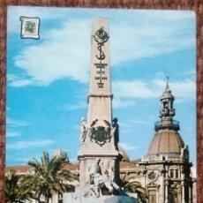 Postales: CARTAGENA - MONUMENTO A LOS HEROES DE CAVITE. Lote 161218882