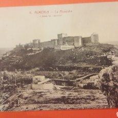 Postales: ALMERÍA LA ALCAZABA ROSINA BARCELONA. Lote 161332129