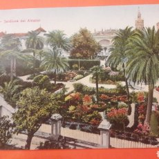 Postales: 1921 SEVILLA JARDINES ALCÁZAR TOMÁS GANZ SEVILLA. Lote 161335820
