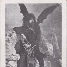Postales: LORCA (MURCIA) - PROCESIONES DE LORCA - PASO AZUL - ANGEL CAIDO. Lote 161949046