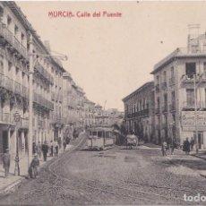 Postales: MURCIA - CALLE DEL PUENTE. Lote 161950622