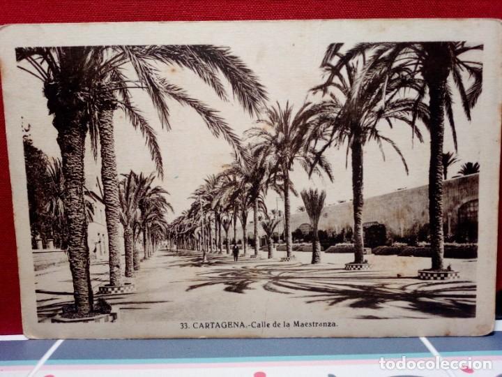 4 TARJETAS POSTALES DE CARTAGENA (SIN CIRCULAR) AÑOS 20/30 (J. CASAU Y L. ROISÍN) REF:135/149 (Postales - España - Murcia Antigua (hasta 1.939))