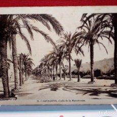 Postales: 4 TARJETAS POSTALES DE CARTAGENA (SIN CIRCULAR) AÑOS 20/30 (J. CASAU Y L. ROISÍN) REF:135/149. Lote 162324998