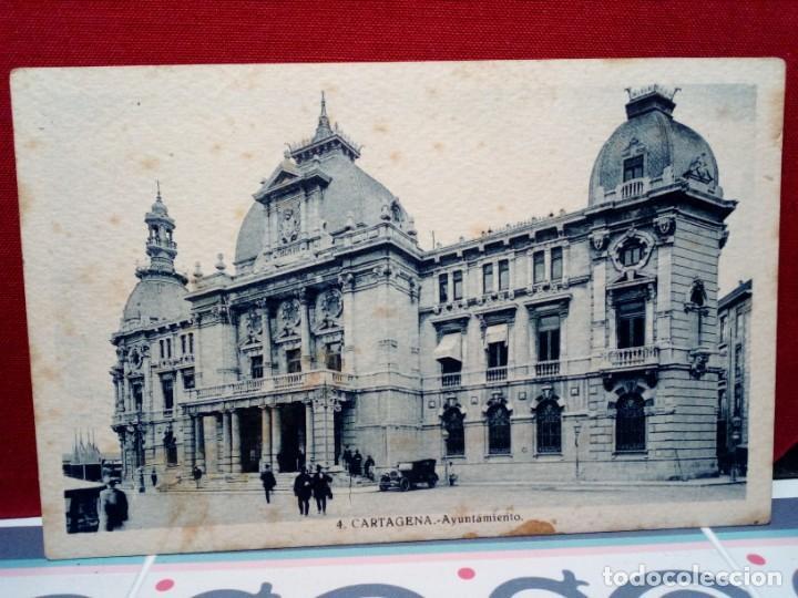 Postales: 4 TARJETAS POSTALES DE CARTAGENA (SIN CIRCULAR) AÑOS 20/30 (J. CASAU Y L. ROISÍN) REF:135/149 - Foto 3 - 162324998