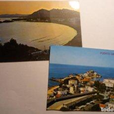 Postales: LOTE POSTALES MAZARRON- PUERTO Y PLAYA. Lote 162983182