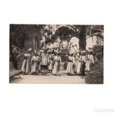 Postales: CARTAGENA.(MURCIA).- PROCESIÓN DEL DOMINGO DE RAMOS. COFRADÍA CALIFORNIA. ARCA DE LA ALIANZA.. Lote 163745570