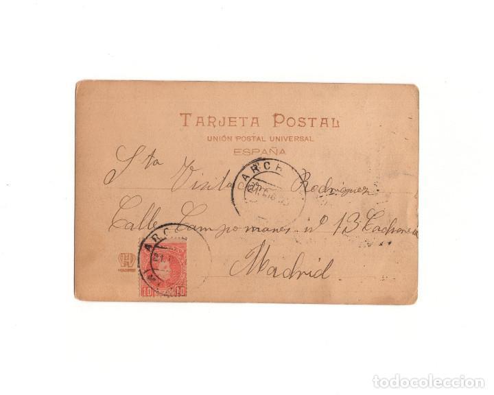 Postales: BAÑOS DE ARCHENA.(MUCIA).- MANOLO LIMPIA BOTAS - ENANISMO. - Foto 2 - 163751270