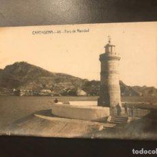 Postales: POSTAL CARTAGENA 46 FARO DE NAVIDAD FABERT . Lote 163804678