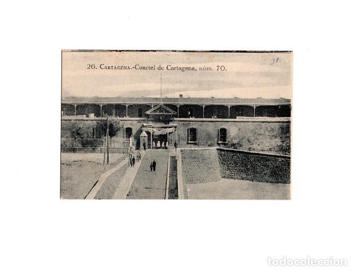 CARTAGENA.(MURCIA).- CUARTEL DE CARTAGENA. (Postales - España - Murcia Antigua (hasta 1.939))