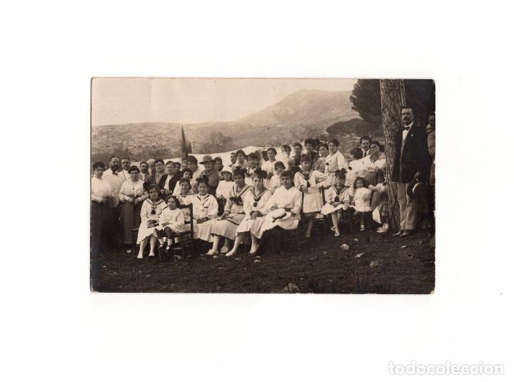 CARTAGENA.(MURCIA).- BOY-SCOUTS. EXPLORADORES CARTAGENEROS. POSTAL FOTOGRÁFICA. (Postales - España - Murcia Antigua (hasta 1.939))