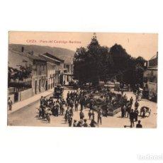 Postales: CIEZA.(MURCIA).- PLAZA DEL CANÓNIGO MARTÍNEZ.. Lote 164747746