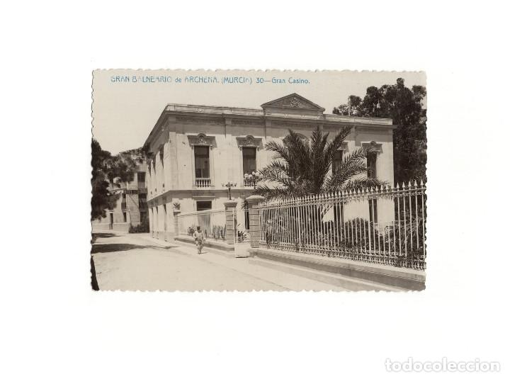 MURCIA.- GRAN BALNEARIO DE ARCHENA.- GRAN CASINO. (Postales - España - Murcia Antigua (hasta 1.939))