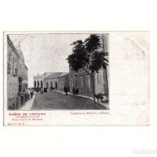 Postales: BAÑOS DE FORTUNA.(MURCIA).- CONJUNTO DE HOTELES Y CASINO.. Lote 164750586