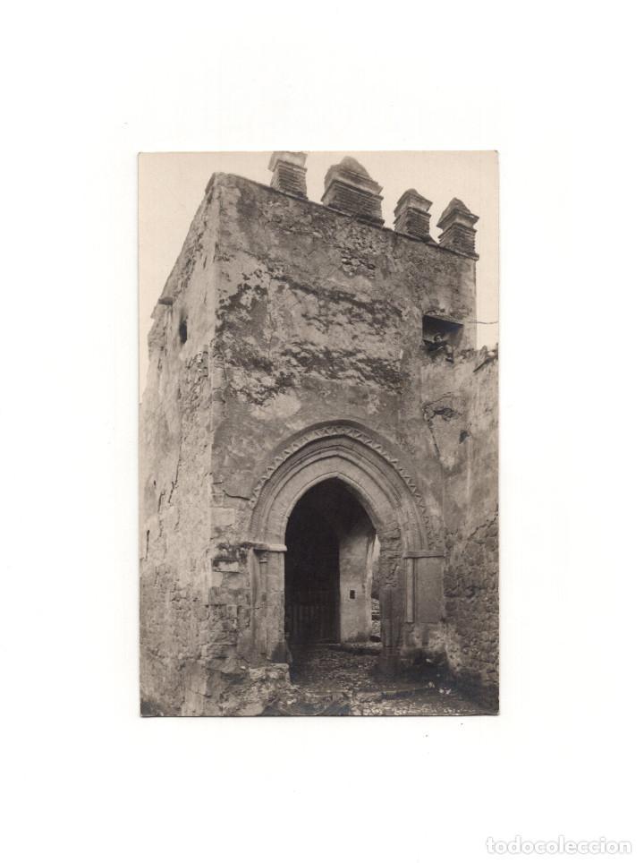 LORCA.(MURCIA).- PORCHE DE SAN ANTONIO. POSTAL FOTOGRÁFICA. PEDRO MENCHÓN. (Postales - España - Murcia Antigua (hasta 1.939))