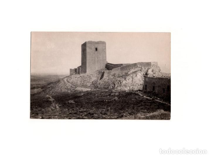 LORCA.(MURCIA).- CASTILLO. POSTAL FOTOGRÁFICA. PEDRO MENCHÓN (Postales - España - Murcia Antigua (hasta 1.939))