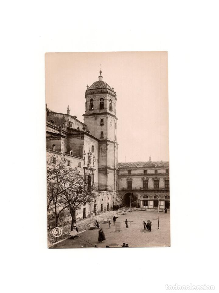 LORCA.(MURCIA).- CAMPANARIO DE LA COLEGIATA DE SAN PATRICIO. POSTAL FOTOGRÁFICA. PEDRO MENCHÓN (Postales - España - Murcia Antigua (hasta 1.939))