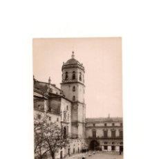 Postales: LORCA.(MURCIA).- CAMPANARIO DE LA COLEGIATA DE SAN PATRICIO. POSTAL FOTOGRÁFICA. PEDRO MENCHÓN. Lote 164855410