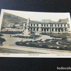 Postales: CARTAGENA MURCIA OBRAS DEL PUERTO. Lote 165001910