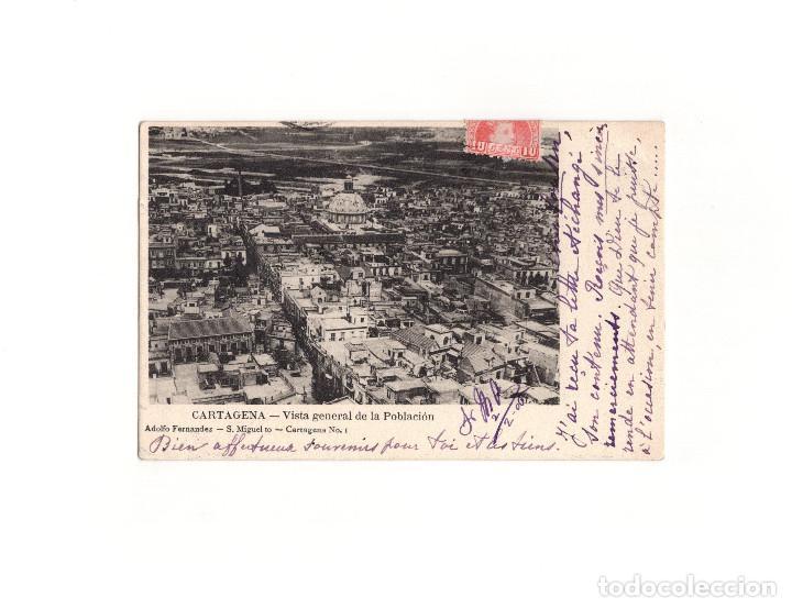 CARTAGENA.(MURCIA).- VISTA GENERAL DE LA POBLACIÓN. (Postales - España - Murcia Antigua (hasta 1.939))
