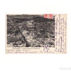 Postales: CARTAGENA.(MURCIA).- VISTA GENERAL DE LA POBLACIÓN.. Lote 165200946