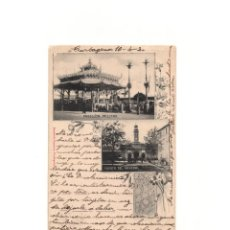 Postales: CARTAGENA.(MURCIA).- PABELLÓN MILITAR, PUERTA DEL ARSENAL. BERNARDO LASSERE.. Lote 165201186