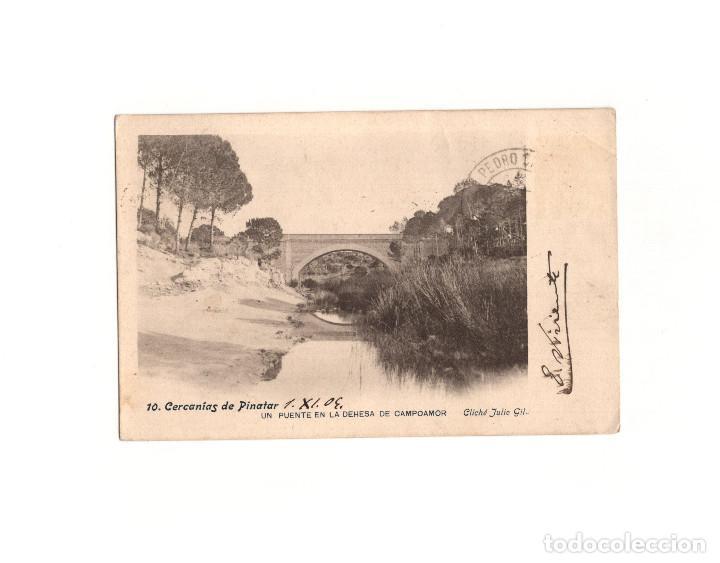 PINATAR.(MURCIA).- UN PUENTE EN LA DEHESA DE CAMPOAMOR. (Postales - España - Murcia Antigua (hasta 1.939))