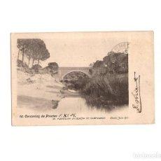 Postales: PINATAR.(MURCIA).- UN PUENTE EN LA DEHESA DE CAMPOAMOR.. Lote 165378414