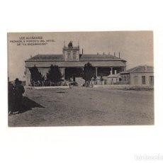 Postales: LOS ALCÁZARES.(MURCIA).- FACHADA A PONIENTE DEL HOTEL DE LA ENCARNACIÓN.. Lote 165386686
