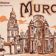 Postales: MURCIA. BLOC DE 20 POSTALES COMPLETO. Lote 165603094