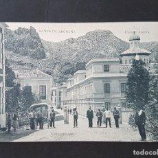 Postales: BAÑOS DE ARCHENA MURCIA CALLE PRINCIPAL. Lote 165655706